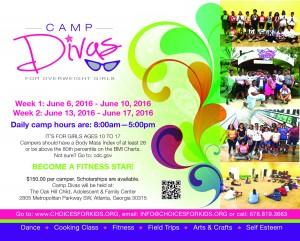 2016 CHOICES Camp Divas