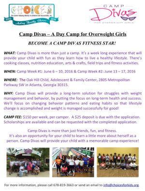 CHOICES Camp Divas Overview